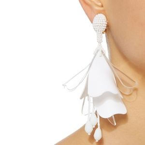 Oscar de la Renta Jewelry - OSCAR DE LA RENTA Single Clip On Earring